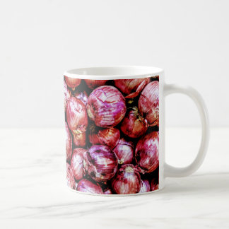 Caneca De Café Cebola vermelha