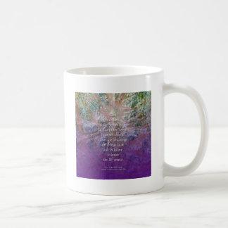 Caneca De Café Cedro de incenso da serenidade