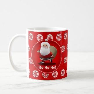Caneca De Café Celebração do Natal do papai noel