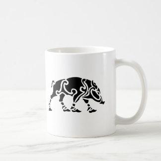Caneca de café celta do varrão