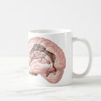 Caneca De Café Cérebro dos peixes