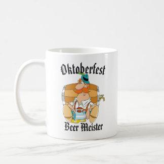 Caneca De Café Cerveja Meister de Oktoberfest