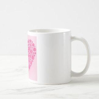 Caneca De Café Cervo cor-de-rosa da bolha