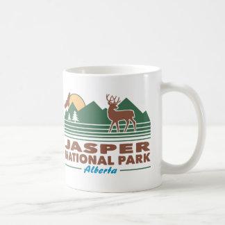 Caneca De Café Cervos de mula do parque nacional de jaspe