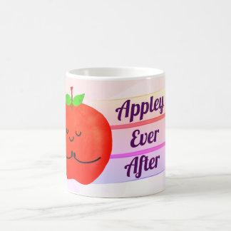 Caneca De Café Chalaça positiva de Apple - Appley sempre em