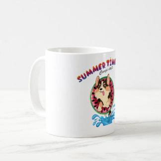 Caneca De Café Chameja o corgi
