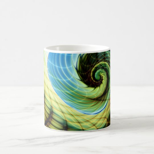 Caneca De Café Change of Skin Gnarly Fractal