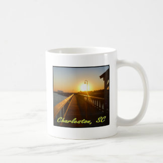 Caneca De Café Charleston, por do sol do SC
