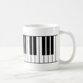 Caneca De Café Chaves do piano
