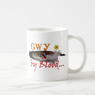 Caneca De Café Cherokee pelo sangue