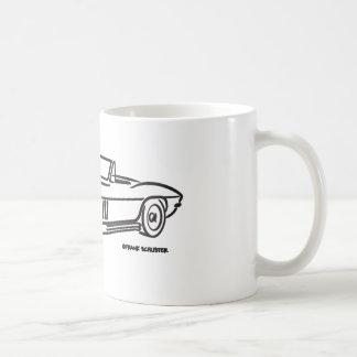Caneca De Café Chevrolet Corvette 1966