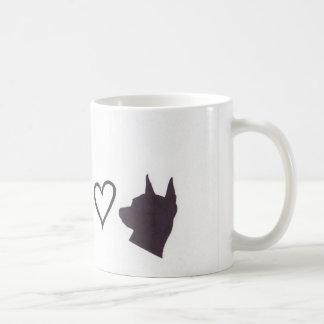 Caneca De Café Chihuahua e amor mínimo do Pin