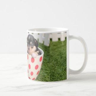 Caneca De Café chihuahua-filhote de cachorro no copo