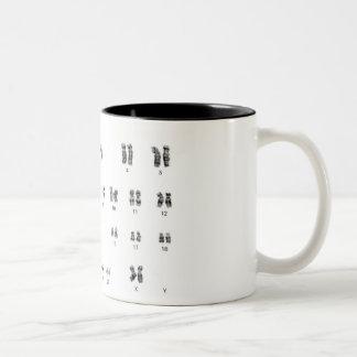 caneca de café chique da fêmea da genética xx do g