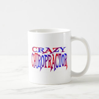 Caneca De Café Chiropractor louco