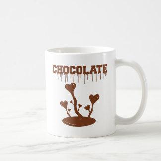 Caneca De Café Chocolate