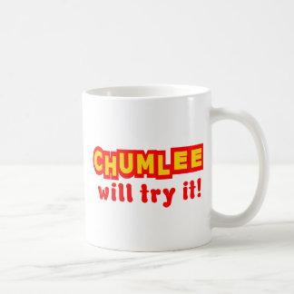 Caneca De Café Chumlee tentá-lo-á
