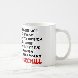 Caneca De Café Churchill: Miséria do socialismo