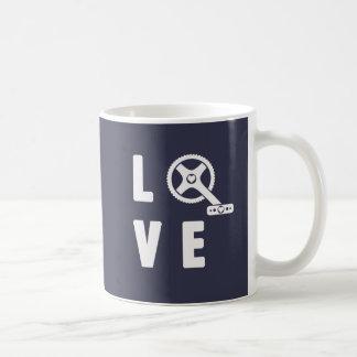 Caneca De Café Ciclismo do amor