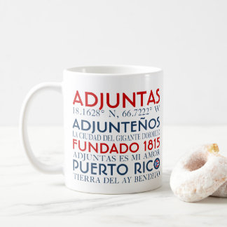 Caneca De Café Cidade de Adjuntas, Puerto Rico