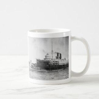 Caneca De Café Cidade do navio a vapor de Cleveland