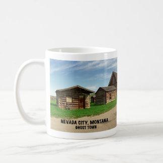 Caneca De Café Cidade fantasma: Cidade de Nevada, Montana