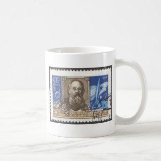 Caneca De Café Cientista do soviete do russo de Konstantin