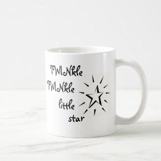 Caneca De Café Cintilação, cintilação pouca estrela