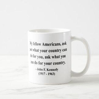 Caneca De Café Citações 3a de JFK