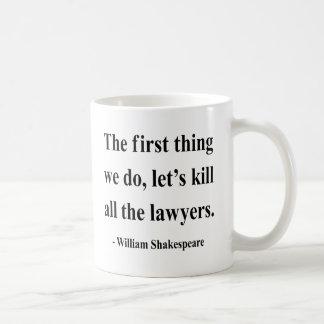 Caneca De Café Citações 4a de Shakespeare