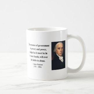 Caneca De Café Citações 5b de James Madison