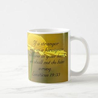 Caneca De Café Citações da escritura da bíblia do antigo