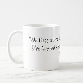 Caneca De Café Citações de Robert Frost