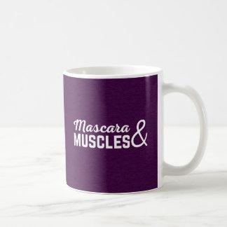 Caneca De Café Citações do Gym do rímel & dos músculos