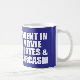 Caneca De Café Citações engraçadas do filme