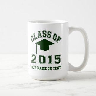 Caneca De Café Classe da graduação 2015