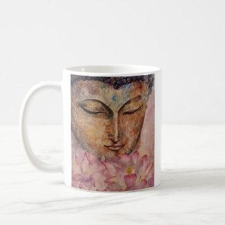 Caneca de café clássica da arte da aguarela de