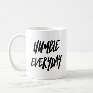 Caneca de café clássica - diário humilde