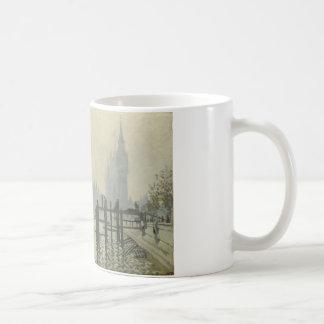 Caneca De Café Claude Monet - a Tamisa em Westminster