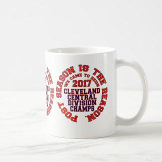Caneca De Café Cleveland 2017 campeões centrais da divisão