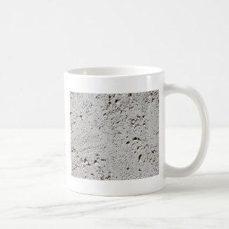Caneca De Café Close up fóssil da superfície do azulejo da