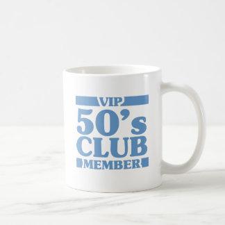 Caneca De Café Clube do 50 do VIP