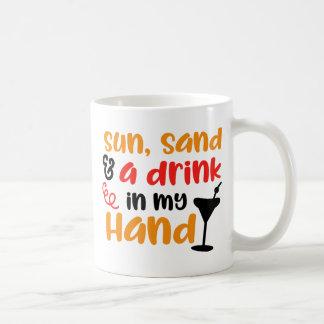 Caneca De Café Cocktail à disposição