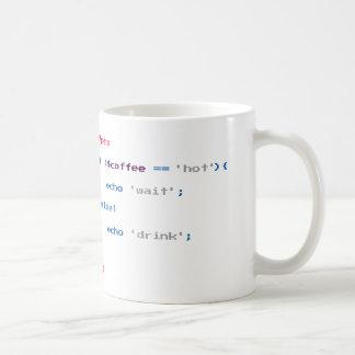 Caneca De Café Codificador do café do PHP