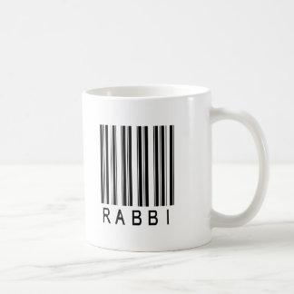 Caneca De Café Código de barras do rabino