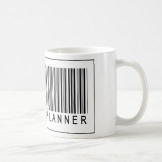 Caneca De Café Código de barras que Wedding o planejador