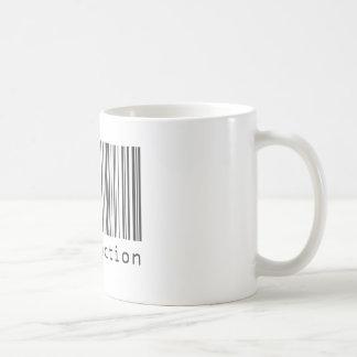 Caneca De Café Código de barras - satisfação