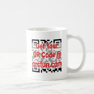 Caneca De Café Código de QR