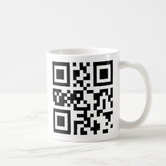 Caneca De Café Código de QR - Chanukah feliz!