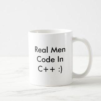 Caneca De Café Código real InC dos homens++ :) copo de café